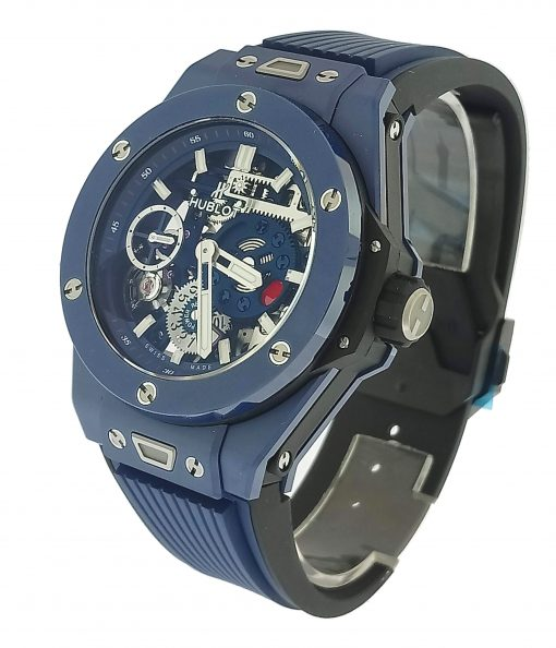 Hublot Big Bang Meca-10 Ceramic Blue Men's Watch, 414.EX.5123.RX 3