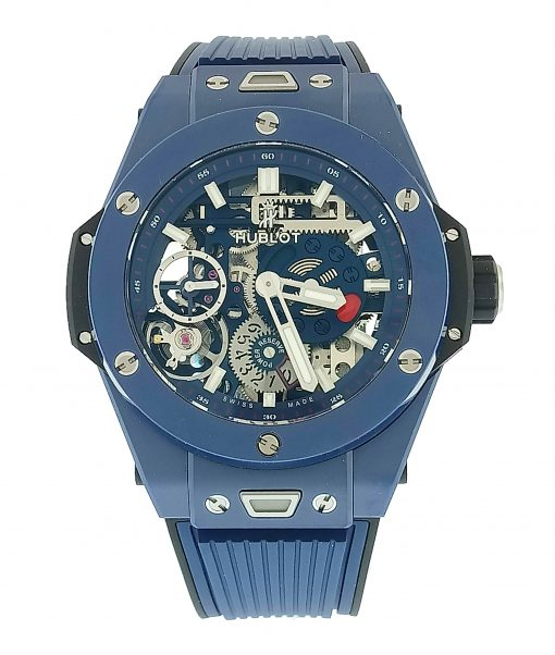 Hublot Big Bang Meca-10 Ceramic Blue Men's Watch, 414.EX.5123.RX 2
