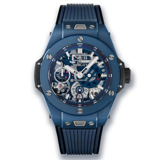 Hublot Big Bang Meca-10 Ceramic Blue Men's Watch, 414.EX.5123.RX