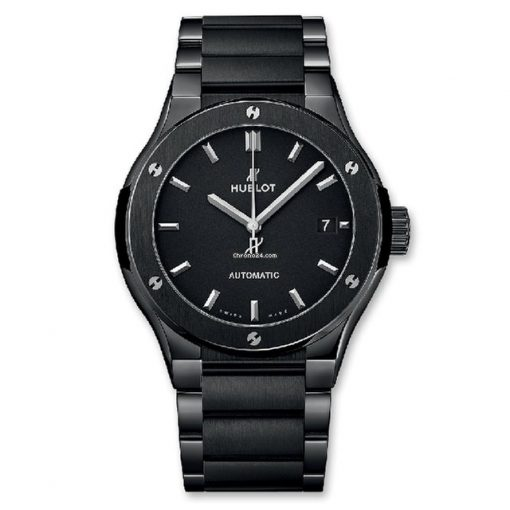 Hublot Classic Fusion Black Magic Bracelet Ceramic Men's Watch, 510.CM.1170.CM
