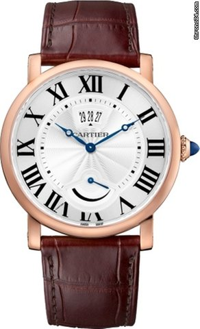 Cartier Rotonde 18K Pink Gold Men's Watch, W1556252