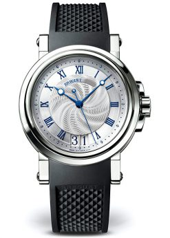 Breguet Marine Automatic Big Date Stainless Steel Men's Watch preowned.5817st/12/5v8