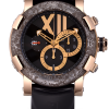 Romain Jerome Titanic DNA Rusted steel T-OXY III Chronograph Men's Watch preowned.CH.T.OXY3.2222.00.BB