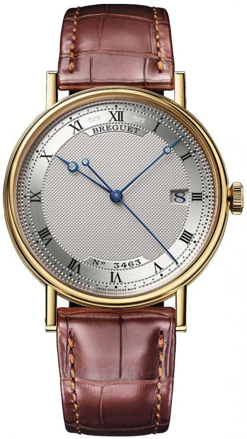 Breguet Classique Automatic 38mm 18k Yellow Gold Men`s Watch, 5177BA/15/9V6