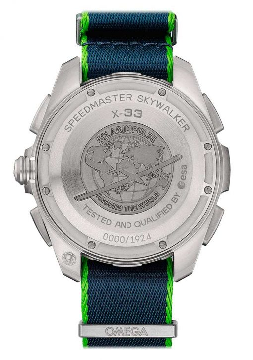 Omega Speedmaster Skywalker X-33 Chronograph Solar Impulse Limited Edition Titanium Men`s Watch, 318.92.45.79.03.001 2
