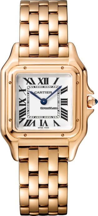 Cartier Panthère 18K Pink Gold Ladies Watch, WGPN0007