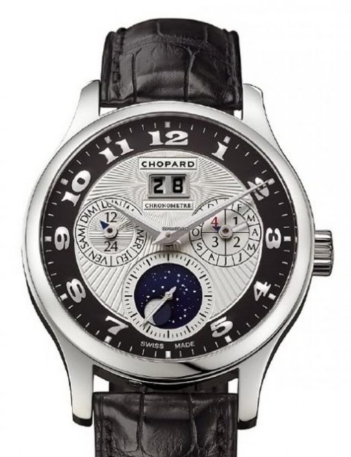 Chopard L.U.C Lunar One Platinum Mens Watch, 161894-9001
