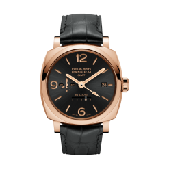 Officine Panerai Radiomir 1940 10 Days OroRosso GMT 18k Red Gold Men's Watch PAM00624