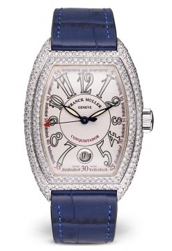 Franck Muller Conquistador 18K White Gold & Diamonds Watch Preowned-8001 SC D