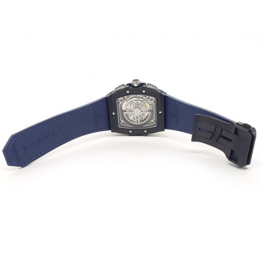 Hublot Spirit of Big Bang 45 mm Black Ceramic Blue Men's Watch, 601.CI.7170.LR 3