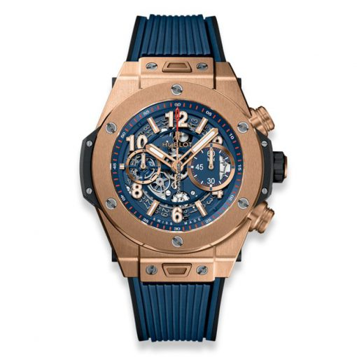 Hublot Big Bang Unico Blue King Gold Men's Watch, 411.OX.5189.RX