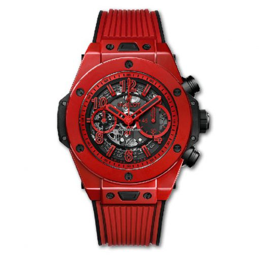 Hublot Big Bang Unico Red Magic Ceramic Men's Watch, 411.CF.8513.RX