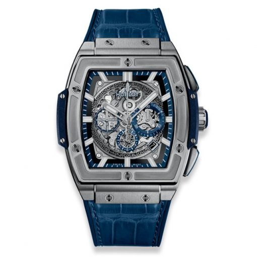 Hublot Spirit of Big Bang 45 mm Titanium Blue Men's Watch, 601.NX.7170.LR
