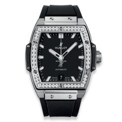 Hublot Spirit of Big Bang 39 mm Titanium & Diamonds Men's Watch 665.NX.1170.RX.1204