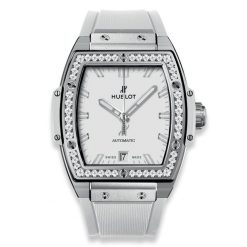 Hublot Spirit of Big Bang 39 mm White Titanium & Diamonds Ladies' Watch 665.NE.2010.RW.1204