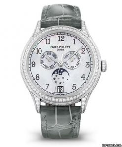 Patek Philippe Complications 38mm 18K White Gold Ladies' Watch 4948G-010
