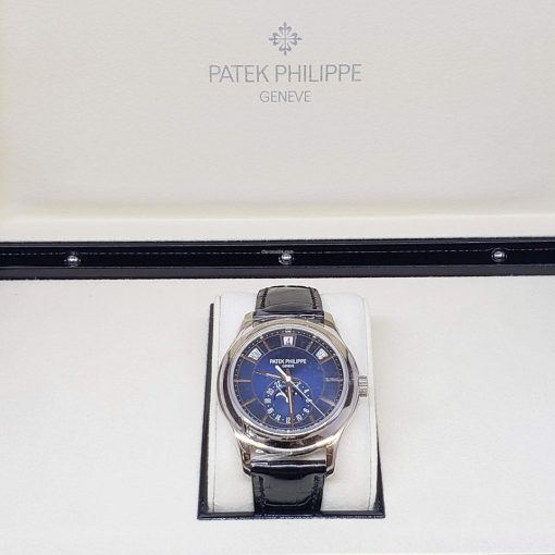 Patek Philippe Complications Moonphase 18k White Gold Men's Watch, 5205G-013 9