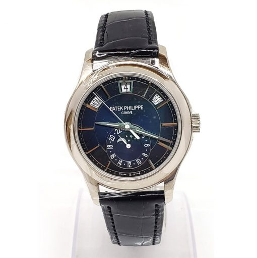 Patek Philippe Complications Moonphase 18k White Gold Men's Watch, 5205G-013 7