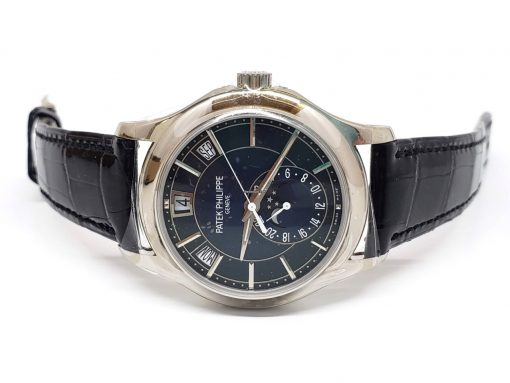 Patek Philippe Complications Moonphase 18k White Gold Men's Watch, 5205G-013 3