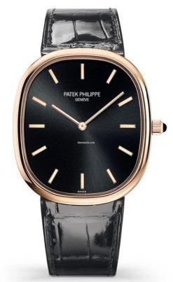 Patek Philippe Golden Ellipse 18K Rose Gold Men's Watch 5738R-001