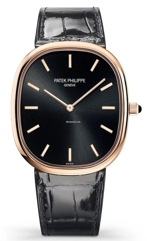 Patek Philippe Golden Ellipse 18K Rose Gold Men's Watch, 5738R-001