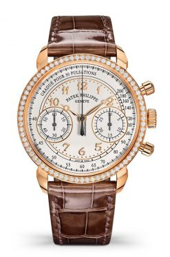 Patek Philippe Complications 18k Rose Gold & Diamonds Ladies Watch 7150/250R-001