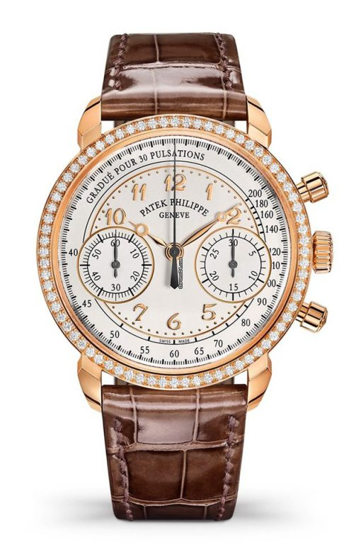 Patek Philippe Complications 18k Rose Gold & Diamonds Ladies Watch, 7150/250R-001