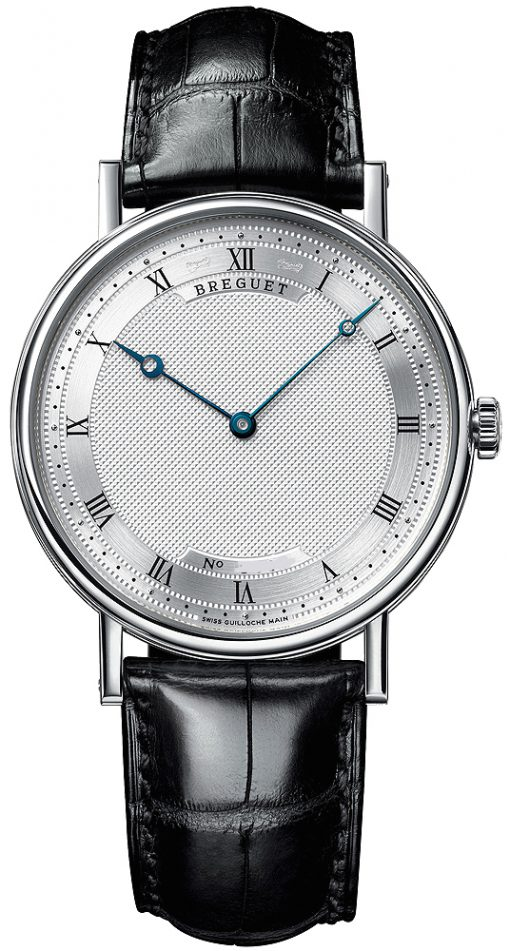 Breguet Classique Automatic Ultra Slim 18k White Gold Men's Watch, preowned.5157bb/11/9v6