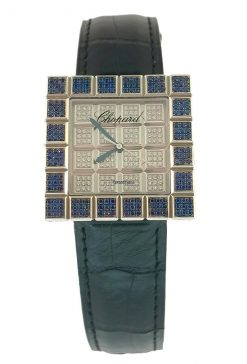 Chopard – Happy Diamonds Sapphire and Diamonds Ladies Watch 136858-1013