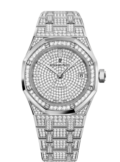 Audemars Piguet Royal Oak 18K White gold Ladies Watch 15452BC.ZZ.1258BC.01