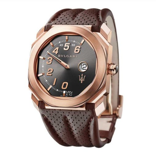 Bvlgari Octo Maserati GranSport 18K Rose Gold Men`S Watch, BGOP41BGLR/MAS-102906 2