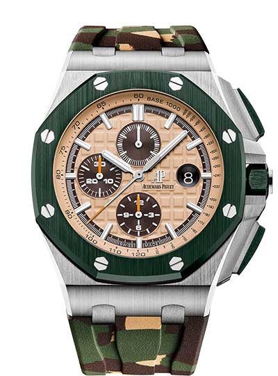 Audemars Piguet Royal Oak Offshore Selfwinding Chronograph Stainless Steel Men's Watch, 26400SO.OO.A054CA.01