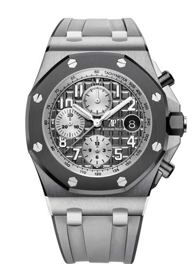 Audemars Piguet Royal Oak Offshore Selfwinding Chronograph Titanium Men's Watch, 26470IO.OO.A006CA.01