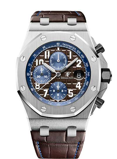 Audemars Piguet Royal Oak Offshore Chronograph Stainless Steel Men's Watch, 26470ST.OO.A099CR.01