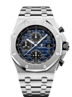Audemars Piguet Royal Oak Offshore Chronograph 950 Platinum Men's Watch 26470PT.OO.1000PT.02