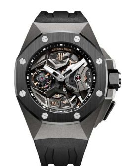 Audemars Piguet Royal Oak Concept Flying Tourbillon GMT Titanium Men's Watch 26589IO.OO.D002CA.01