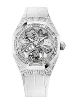 Audemars Piguet Royal Oak Concept Flying Tourbillon 18K White Gold Ladies Watch 26227BC.ZZ.D011CR.01