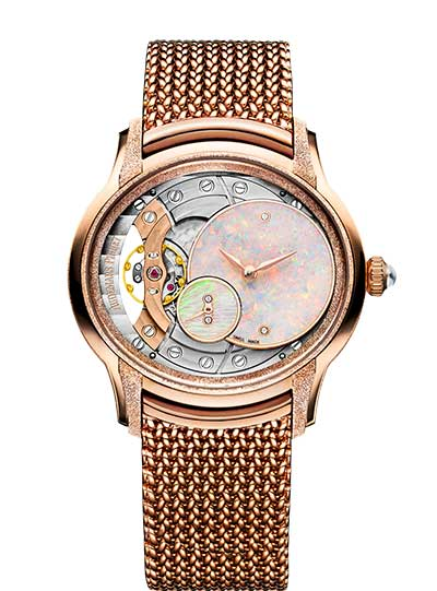 Audemars Piguet Millenary Frosted Gold Opal Dial Ladies Watch, 77244OR.GG.1272OR.01