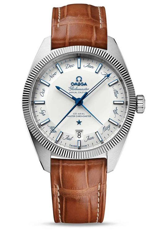 Omega Constellation Globemaster Co-Axial Master Stainless Steel Men`s Watch, 130.33.41.22.02.001