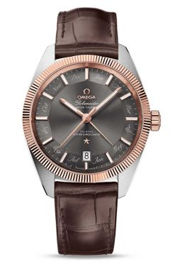 Omega Constellation Globemaster Co-Axial Master Stainless Steel & 18K Sedna™ Gold Men`s Watch 130.23.41.22.06.001