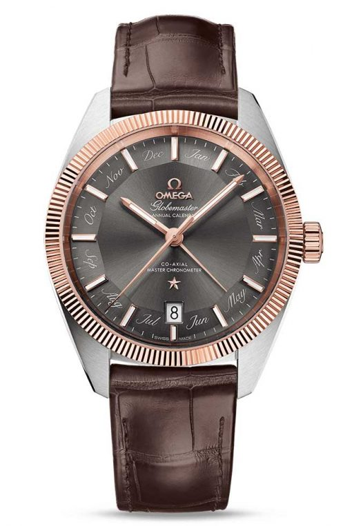 Omega Constellation Globemaster Co-Axial Master Stainless Steel & 18K Sedna™ Gold Men`s Watch, 130.23.41.22.06.001
