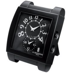 De Grisogono Table Travel Clock Black UNO-DF-DECK-CLOCK-N02