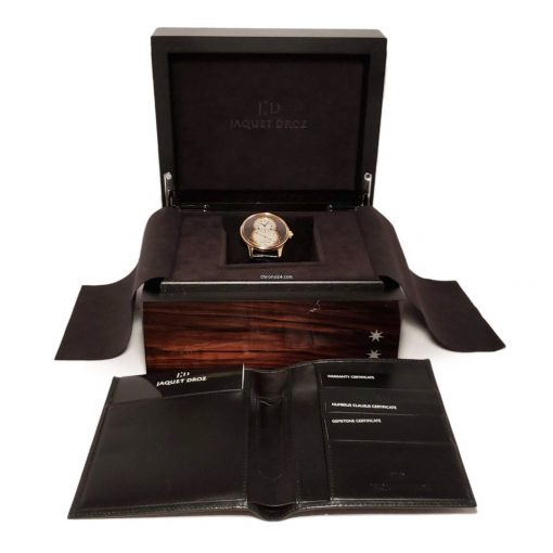 Jaquet Droz Grande Seconde 43mm Rose Gold Mens Watch, pre-owned-J003033203 6