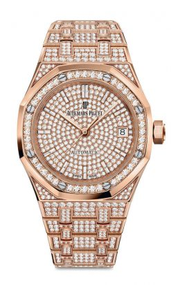 Audemars Piguet Royal Oak 18K Pink gold Ladies Watch 15452OR.ZZ.1258OR.02