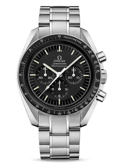 Omega Speedmaster Moonwatch Professional Stainless Steel Men`s Watch, 311.30.42.30.01.006