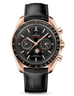 Omega Speedmaster Moonwatch Co-Axial Master Moonphase 18K Sedna™ gold Men`s Watch 304.63.44.52.01.001