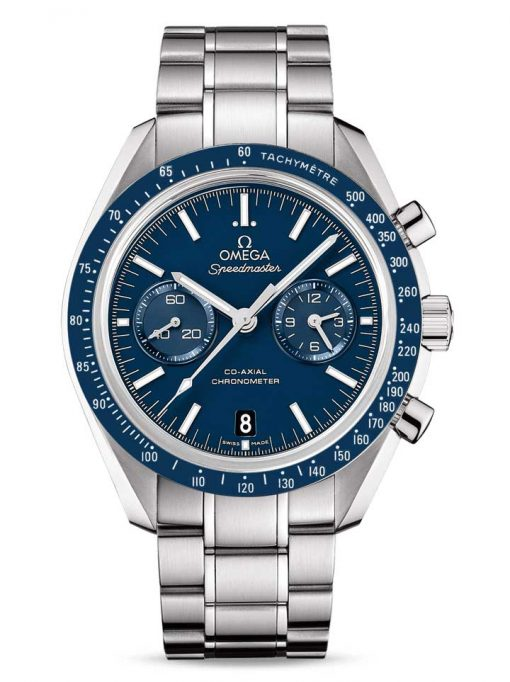 Omega Speedmaster Moonwatch Co-Axial Chronograph Titanium Men`s Watch, 311.90.44.51.03.001