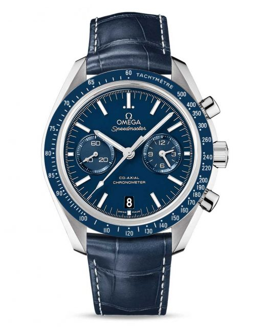 Omega Speedmaster Moonwatch Co-Axial Chronograph Titanium Men`s Watch, 311.93.44.51.03.001
