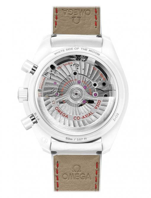 """Omega Speedmaster Moonwatch Co-Axial """"White Side of the Moon""""  Ceramic Men`s Watch, 311.93.44.51.04.002 3"""