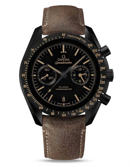 "Omega Speedmaster Moonwatch Co-Axial ""Vintage Black"" Ceramic Men`s Watch, 311.92.44.51.01.006"